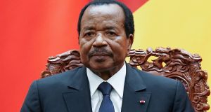 Cameroon's president,  Paul Biya, who has held on to power for 36 years. Photograph: Lintao Zhang  via Reuters