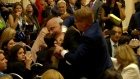 Journalist dragged out of room ahead of Trump-Putin press conference