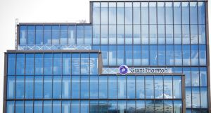 "Grant Thornton's office on City Quay: ""The underlying economic success we are achieving is being frustrated by the consequence of almost-full employment."" Photograph: Tom Honan"