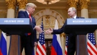 Trump sides with Putin on Russian election meddling