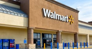 Walmart has teamed up with Microsoft on cloud technology. Photograph: Getty Images