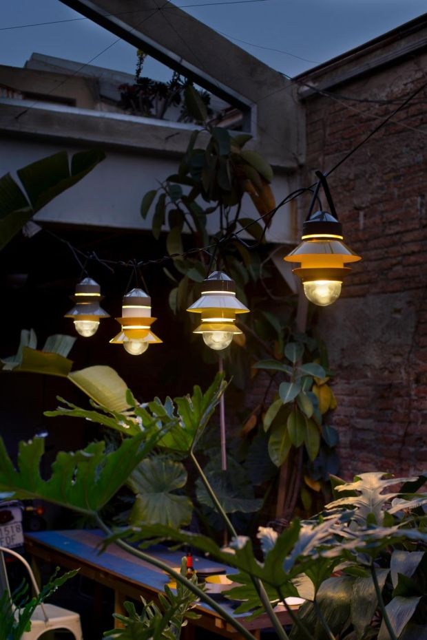 Outdoor lighting Nest Santorini opt one
