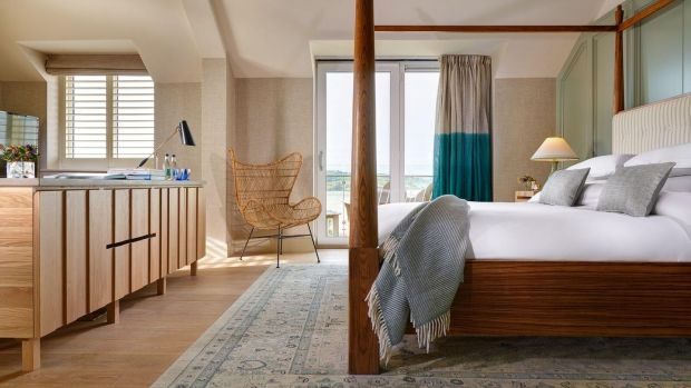 Inchydoney Island Lodge & Spa's refurbished suites are elegantly redesigned by NODA's Nikki O'Donnell