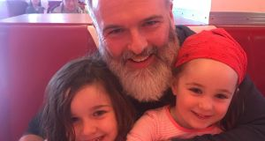 "Ross Good and his daughters: ""I thrive on engagement with other people. I've zero problems getting involved with group activities. However, I'm not the centre of attention either,"" says stay-at-home dad Ross."