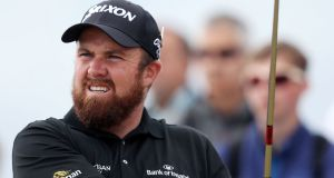 Shane Lowry during preview day three of the British Open Championship   at Carnoustie Golf Links, Angus. Photograph:  : David Davies/PA