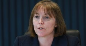 Central Bank deputy governor Sharon Donnery: a credible candidate for the Single Supervisory Mechanism  job if she puts her name forward. Photograph: Nick Bradshaw
