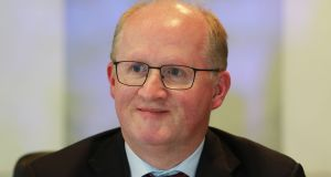 Central Bank governor Philip Lane: early favourite for the ECB  chief economist position. Photograph: Nick Bradshaw