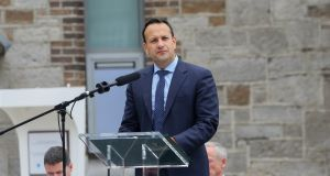 "Taoiseach Leo Varadkar: because of ""turmoil in Westminster"", the Government will step up plans for a ""no-deal scenario"". Photograph:  Gareth Chaney Collins"