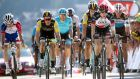 Dan Martin of Ireland during stage 10 from Annecy to Le Grand-Bornand. Photograph: Chris Graythen/Getty Images
