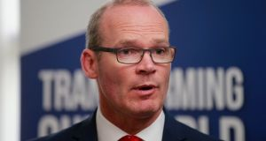 Tánaiste Simon Coveney: 'Brexit is not going to be resolved in London'. Photograph: Nick Bradshaw/The Irish Times