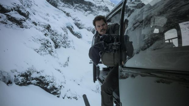 Mission: Impossible – Fallout: Henry Cavill in the helicopter sequence. Photograph: Skydance/Paramount Pictures