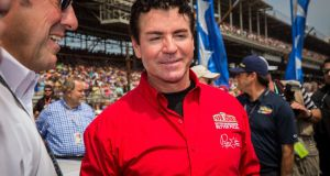 Papa John's founder  John Schnatter  in Indianapolis, Indiana, in May 2015. File photograph: Michael Hickey/Getty Images