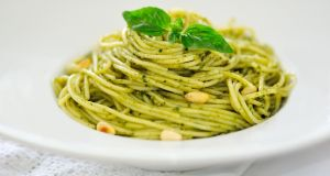 Pasta al pesto alla genovese makes for a delicious dinner, but the ingredients in different pestos   can vary greatly. Photograph: iStock