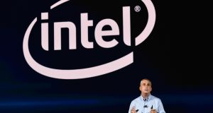 Intel's recently-departed chief executiveBrian Krzanich addressing CES 2018 in Las Vegas in January. His departure in June rocked the company. Photograph: Mandel Ngan/AFP/Getty Images