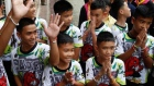 Rescued Thai boys recount their ordeal