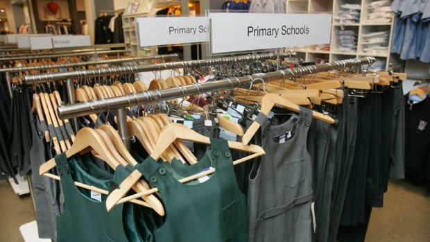 School uniforms in Arnotts, Henry Street, Dublin. Photograph: Matt Kavanagh