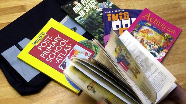 Second-hand school books can save a lot of money. Photograph: Eric Luke