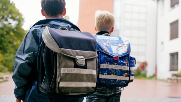 Why are school bags getting heavier, year on year? Photograph: Getty