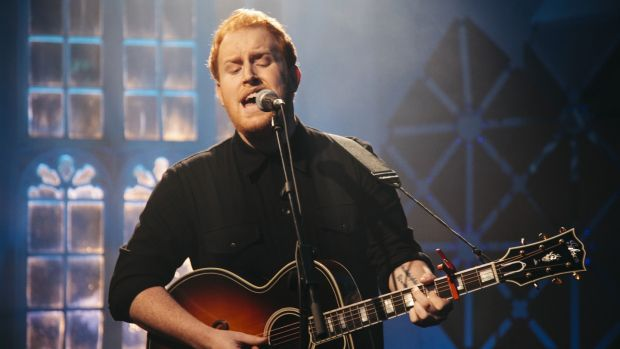 Gavin James: songs for squidgy hearts. Photograph: RTÉ