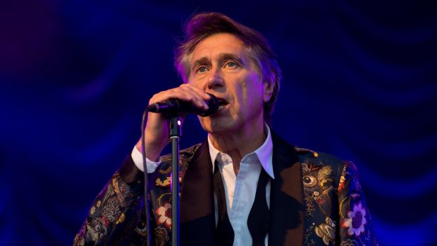 Bryan Ferry: dinner jackets at the ready. Photograph: Zak Hussein/Getty Images