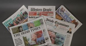 The Irish Times recently completed the acquisition of all of the publishing and media interests of the Cork-based Landmark Media group. Photograph: Dara Mac Dónaill