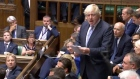 Boris Johnson attacks 'miserable' Chequers plan in leaving speech