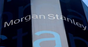 "Morgan Stanley's world headquarters, New York. ""We reported robust revenue and earnings growth this quarter with strength across all businesses and geographies,"" said  chief executive James Gorman. File photograph: Mike Segar/Reuters"