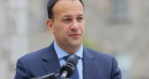 "Taoiseach Leo Varadkar said about 3,000 new ""bedspaces"" for students have been built in the last two years, with a further 7,000 currently under construction. Photograph: Gareth Chaney/Collins"