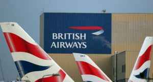 British Airways said it was 'working hard to urgently resolve'  the problem with some of its IT systems. File photograph: Reuters