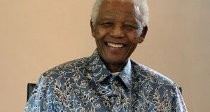 South Africa's first black president Nelson Mandela who died in 2013 remains a global icon. Photograph: Reuters