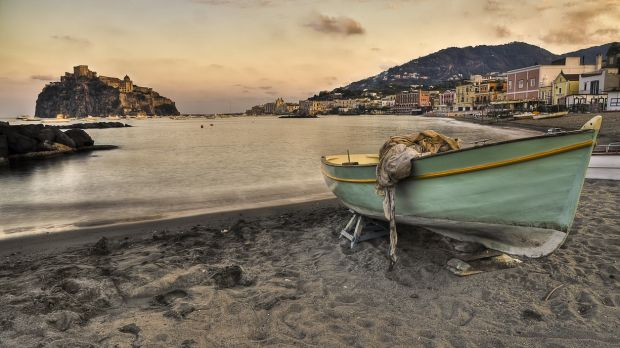 3. Bagno Antonio beach in Ischia, Italy which starred in The Talented Mr Ripley.