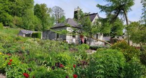 June Blake's garden, wrapped around her Victorian farmsteward's cottage. Photograph: Wicklow Tourism