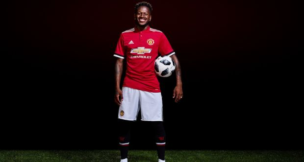 1bd840015 Manchester United unveil new signing Fred ahead of the 2018 19 Premier  League season.