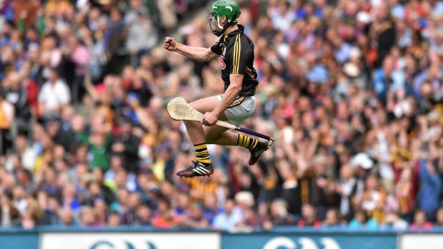 Eoin Murphy: has become a dominant, confident figure at the heart of the Kilkenny defence. Photograph: Matt Browne/Sportsfile/Corbis via Getty Images