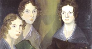 Portrait of Anne, Emily and Charlotte Brontë by Patrick Branwell Brontë.