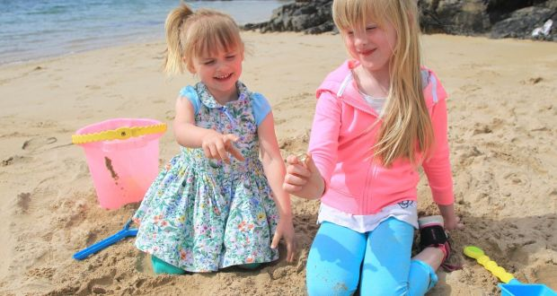 Sisters Maisie 3 And Lola Busch 6 From Lisburn Who While On