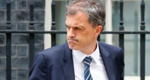 Conservative Party chief whip Julian Smith: embroiled in scandal over breaking with tradition of pairs of MPs agreeing not to vote if one is unable to come to Westminster. Photograph: Tolga Akmen/AFP/Getty