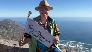 Francis Brennan takes 12 tourists on the trip of a lifetime to South Africa