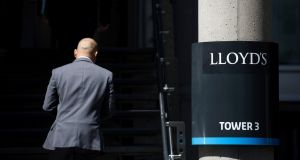 Lloyd's of London insurer Beazley reported a 64 per cent fall in its first-half pretax profit on Friday. Photograph: Simon Dawson/Bloomberg