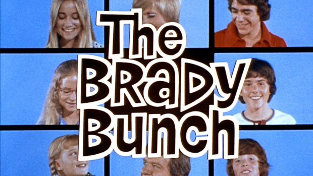 "LOS ANGELES - SEPTEMBER 29: The opening of THE BRADY BUNCH episode, ""Pass The Tabu."" Original air date September 29, 1972. Pictured clockwise from top left is: Maureen McCormick as Marcia Brady, Florence Henderson as Carol Brady, Barry Williams as Greg Brady, Christopher Knight as Peter Brady, Mike Lookinland as Bobby Brady, Robert Reed as Mike Brady, Susan Olsen as Cindy Brady, and Eve Plumb as Jan Brady. Image is a screen grab. (Photo by CBS via Getty Images)"