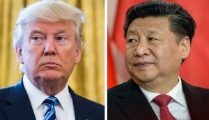 US president Donald Trump and Chinese president Xi Jinping. Photographs: Jim Lo Scalzo/Filip Singer/EPA