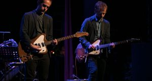Bryce and Aaron Dessner performs at The Everyman in Cork, Ireland, 2017. Photograph: Kieran Frost/Redferns
