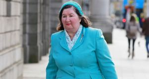 Joanna Jordan: sought to challenge abortion referendum result. Photograph:  Collins Courts