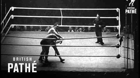 A still from footage of the wrestling match between Doyle and Galento at Tolka Park. Photograph: British Pathé