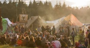 The Buddhafield festival in Devon has a group of Irish emigrants at the helm.