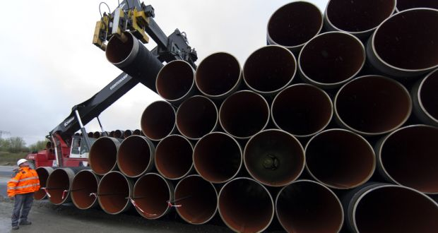 Pipe Sections For Nord Stream 2 Gazprom Plans To Open The Taps At The Russian