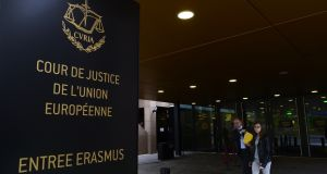 "The European Court of Justice: The EU says that it has a ""number of concerns"" about the independence of members of Ireland's Marine Casualty Investigation Board. Photograph: John Thys/AFP/Getty Images"