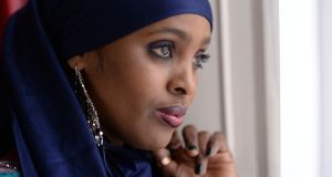 Ifrah Ahmed, the Somali-born Irish woman advising the Somali government on FGM and whose Dublin-based foundation campaigns against the practice world-wide. Photograph: Dara Mac Dónaill