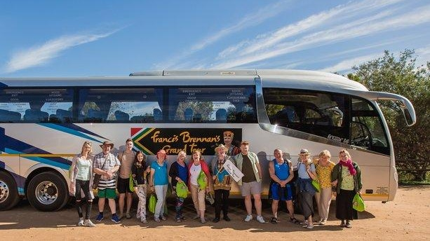 a3b4e80af0 All aboard: Francis Brennan's and his holidaymakers on Grand Tour of South  Africa