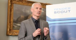 Tony Corrigan, founder of tenderscout - online group helping companies win tenders